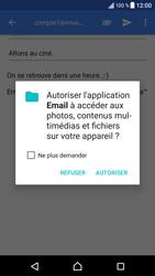 Sony Xperia XZ - Android Nougat - E-mail - envoyer un e-mail - Étape 10