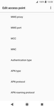 Sony Xperia XZ2 - MMS - Manual configuration - Step 10