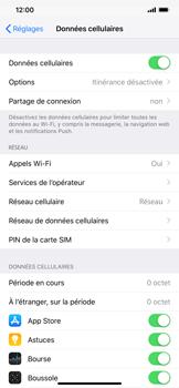 Apple iPhone XS Max - Sécuriser votre mobile - Personnaliser le code PIN de votre carte SIM - Étape 4