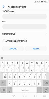 Huawei P Smart - E-Mail - Konto einrichten - Schritt 16