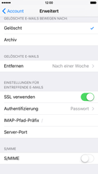 Apple iPhone 6 - E-Mail - Konto einrichten - 24 / 30