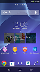 Sony Xperia M2 - Software - Update - Schritt 1