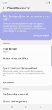 Samsung Galaxy Note 10 - Internet et roaming de données - Configuration manuelle - Étape 26