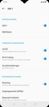 OnePlus 6T - Ausland - Im Ausland surfen – Datenroaming - 11 / 13