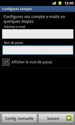 Samsung I8160 Galaxy Ace II - E-mail - Configuration manuelle - Étape 6