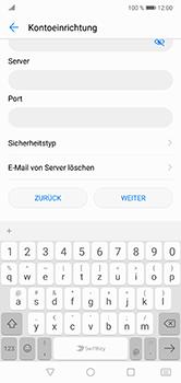 Huawei P20 Lite - E-Mail - Manuelle Konfiguration - Schritt 9