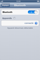 Apple iPhone 4 - iOS 6 - Bluetooth - connexion Bluetooth - Étape 9