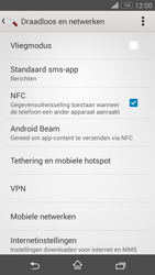 Sony Xperia Z3 Compact 4G (D5803) - NFC - NFC activeren - Stap 6