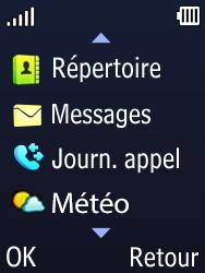 Doro 6620 - Contact, Appels, SMS/MMS - Envoyer un SMS - Étape 3