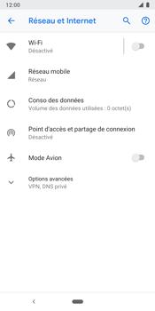 Google Pixel 3 - Internet et connexion - Désactiver la connexion Internet - Étape 5