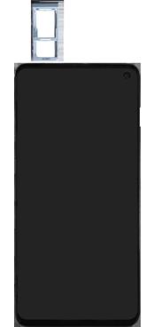 Samsung Galaxy S10e - Premiers pas - Insérer la carte SIM - Étape 3