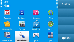 Nokia N97 - Messagerie vocale - Configuration manuelle - Étape 3