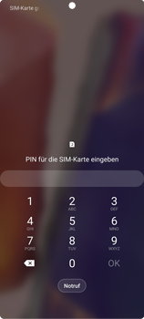 Samsung Galaxy Note 20 5G - Gerät - Einen Soft-Reset durchführen - Schritt 5
