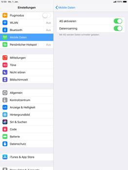 Apple iPad Air - iOS 12 - Ausland - Auslandskosten vermeiden - Schritt 7