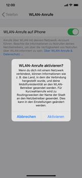 Apple iPhone XS - iOS 13 - WiFi - WiFi Calling aktivieren - Schritt 7