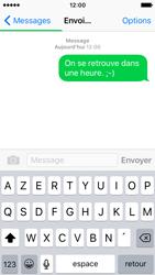 Apple iPhone SE - Contact, Appels, SMS/MMS - Envoyer un SMS - Étape 9
