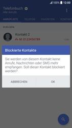 HTC 10 - Anrufe - Anrufe blockieren - Schritt 7