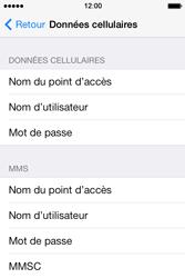Apple iPhone 4 S iOS 7 - Internet - Configuration manuelle - Étape 7