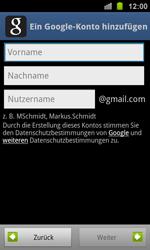 Samsung Galaxy Ace 2 - Apps - Konto anlegen und einrichten - 7 / 19