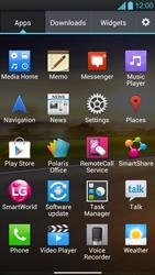LG P880 Optimus 4X HD - Voicemail - Manual configuration - Step 3