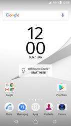 Sony Xperia Z5 (E6653) - Android Nougat - Network - Manually select a network - Step 1