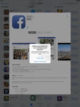 Apple iPad Pro 12.9 inch met iOS9 (Model A1652) - Applicaties - Account aanmaken - Stap 25