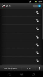 Sony Xperia T - WiFi - WiFi configuration - Step 6