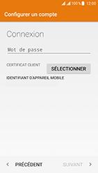 ZTE Blade V8 - E-mail - Configuration manuelle (outlook) - Étape 8