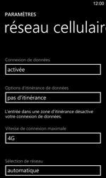 Nokia Lumia 925 - Internet et connexion - Activer la 4G - Étape 7