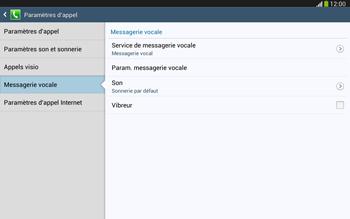 Samsung P5220 Galaxy Tab 3 10-1 LTE - Messagerie vocale - Configuration manuelle - Étape 7