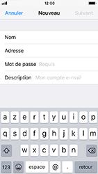 Apple iPhone 5s - iOS 12 - E-mail - Configuration manuelle - Étape 9