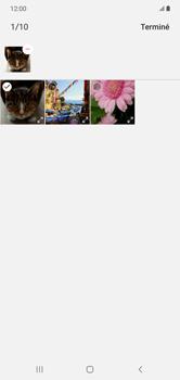 Samsung Galaxy Note 10+ - Contact, Appels, SMS/MMS - Envoyer un MMS - Étape 21