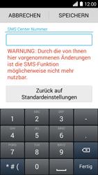 Huawei Ascend Y530 - SMS - Manuelle Konfiguration - Schritt 7