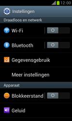 Samsung S7560 Galaxy Trend - bluetooth - aanzetten - stap 4