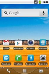 Alcatel OT-991 Smart - Internet - hoe te internetten - Stap 1