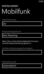 Nokia Lumia 925 - Netzwerk - Manuelle Netzwerkwahl - Schritt 5