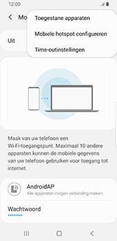 Samsung galaxy-s9-sm-g960f-android-pie - WiFi - Mobiele hotspot instellen - Stap 9