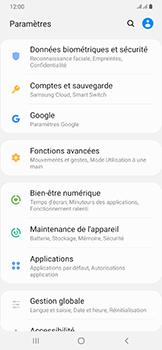 Samsung Galaxy A50 - Prise en main - Comment activer un code SIM - Étape 4