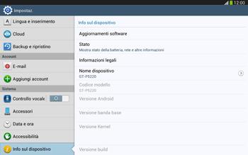 Samsung Galaxy Tab 3 10-1 LTE - Software - Installazione degli aggiornamenti software - Fase 6