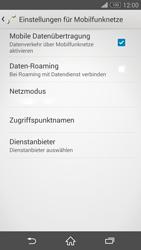 Sony Xperia Z3 - Ausland - Auslandskosten vermeiden - 2 / 2
