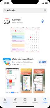 Apple iPhone X - Apps - Löschen und wiederherstellen von vorinstallierten iOS-Apps - 1 / 1
