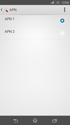 Sony E2003 Xperia E4G - Internet - configuration manuelle - Étape 18