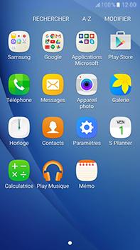 Samsung Samsung Galaxy J7 (2016) - E-mails - Ajouter ou modifier votre compte Outlook - Étape 3