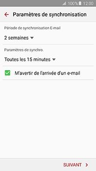 Samsung Galaxy A8 - E-mail - 032b. Email wizard - Yahoo - Étape 8