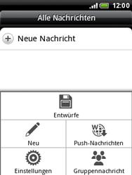 HTC Wildfire - SMS - Manuelle Konfiguration - 3 / 3