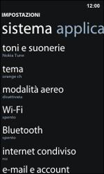 Nokia Lumia 800 / Lumia 900 - WiFi - Configurazione WiFi - Fase 4