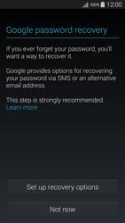 Samsung A500FU Galaxy A5 - Applications - Create an account - Step 12