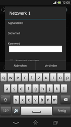 Sony Xperia Z - WLAN - Manuelle Konfiguration - Schritt 7