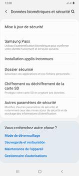 Samsung Galaxy A31 - Sécuriser votre mobile - Personnaliser le code PIN de votre carte SIM - Étape 5