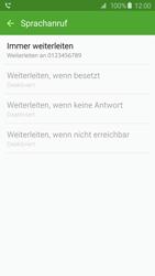 Samsung G925F Galaxy S6 Edge - Anrufe - Rufumleitungen setzen und löschen - Schritt 11